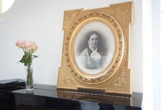 Photo de l'arrière grande tante de Catherine