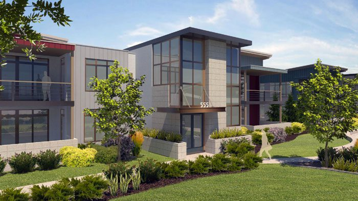 Modern Urban Living in Nature: Dakota Flats Condominiums