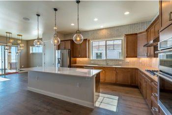 main floor living at Heron Lakes in Berthoud, Colorado