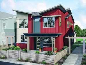 town-home style condo