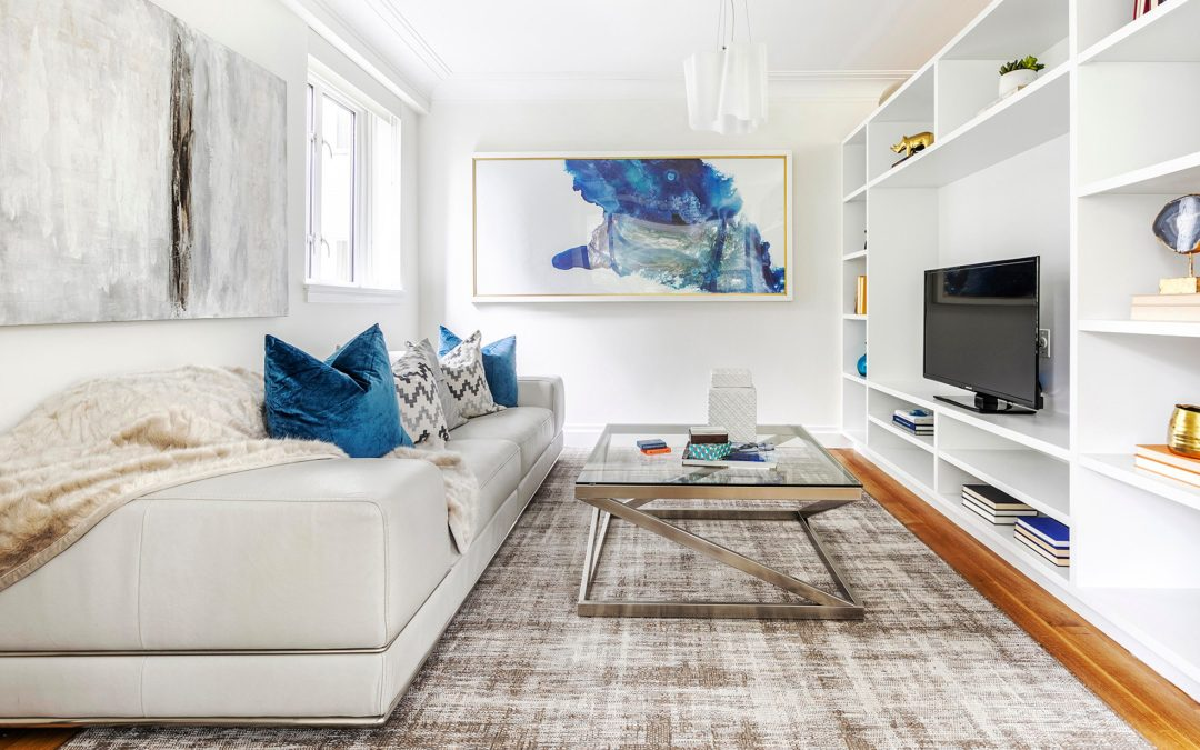Design Recipes:  How to pair blue with white in your space