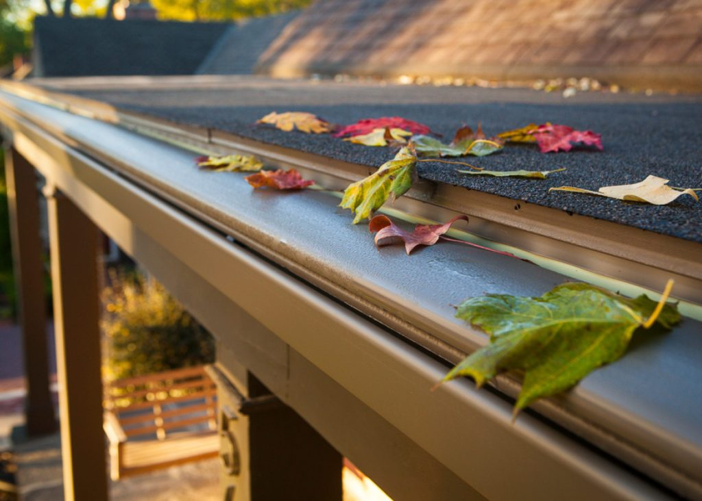 K-Guard gutters have no choke points, cannot clog, and require no maintenance. Ever. (Photo courtesy: K-Guard)