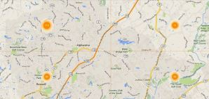 Alpharetta Map Search Real Estate