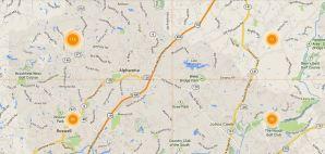 Alpharetta Map Search Real Estate