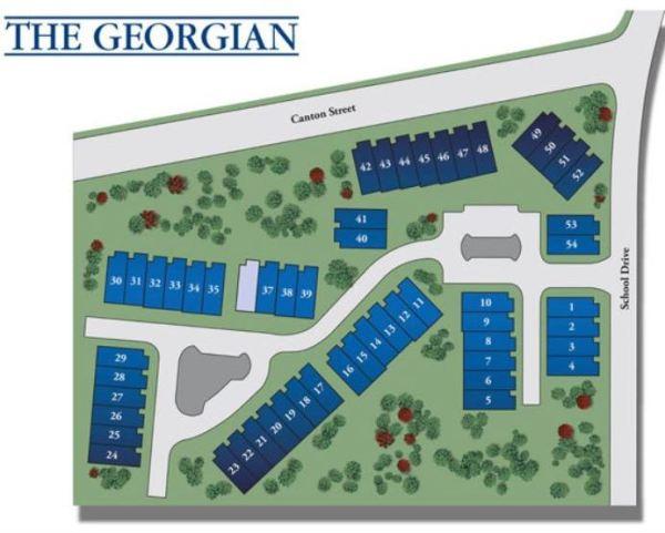 KM Homes Builder The Georgia Site Plan