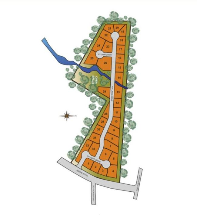 Site Plan Ivy Creek Manor