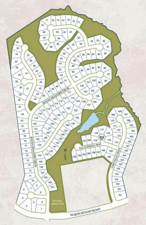 Buford Community Site Plan Reserve At Bogan Lakes
