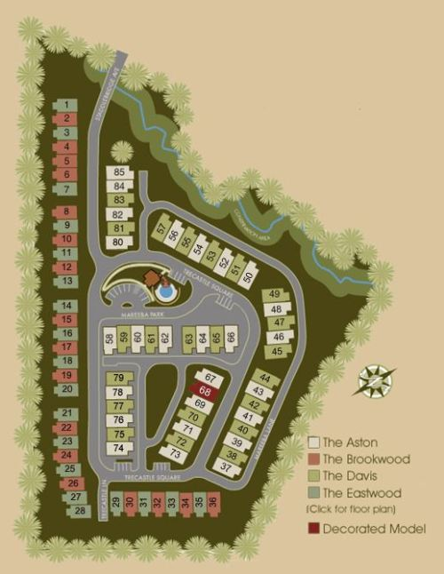 Site Plan For Overlook At Sixes