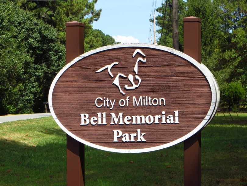 City Of Milton Georgia Park Bell Memorial
