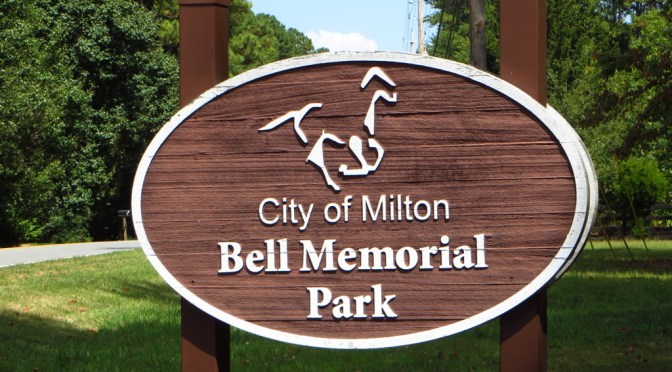 City Of Milton Georgia Park Bell Memorial