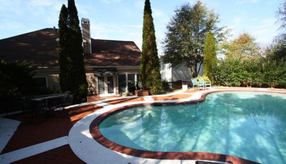 Marietta Georgia Pool Home In Glenside