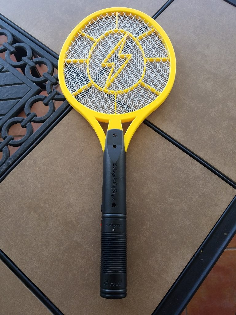 balcony mosquito control tactics that work - electric mosquito zapper racquet