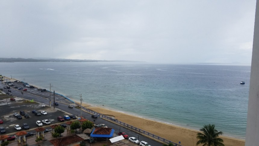 view from OGPE office in Aguadilla