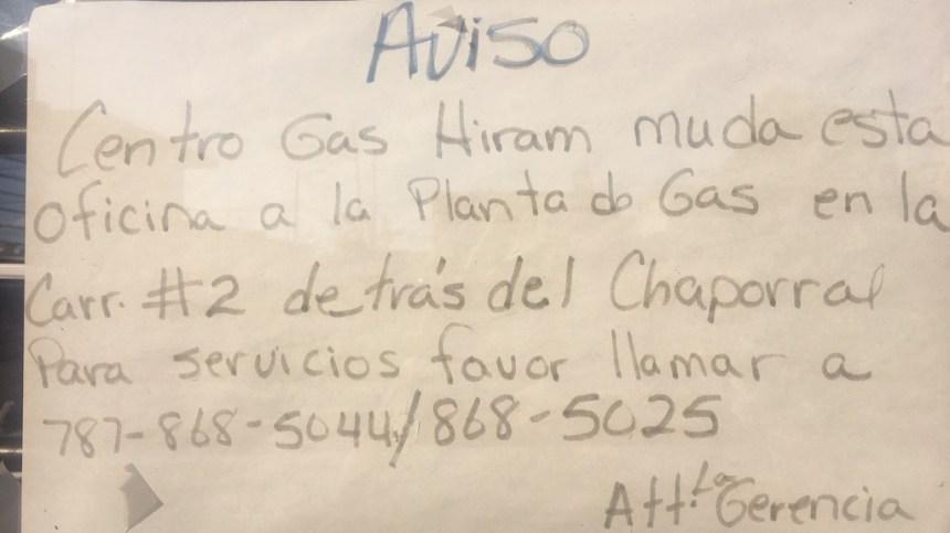 Mosquito Control Puerto Rico - Centro Gas Hiram  Aguada Note