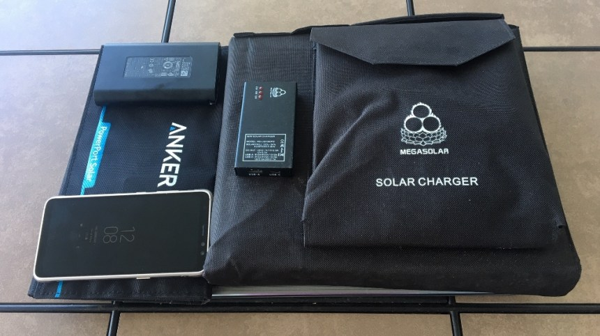At Home in Puerto Rico - Personal Solar Backup Power in Puerto Rico - picture of my solar backup power kit