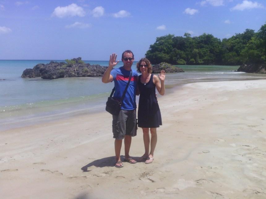 At Home in Puerto Rico - Holly and David at Playa Bonita the Dominican Republic