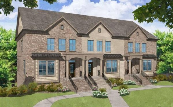Traditional Style New Townhomes In Smyrna GA