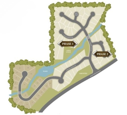Tunberry Site Plan Suwanee GA