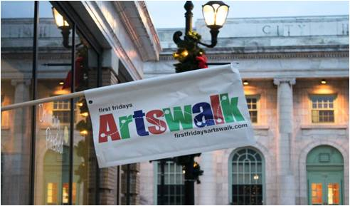 First Fridays Artswalk, Pittsfield, MA (Photo Credit: Susan Geller)