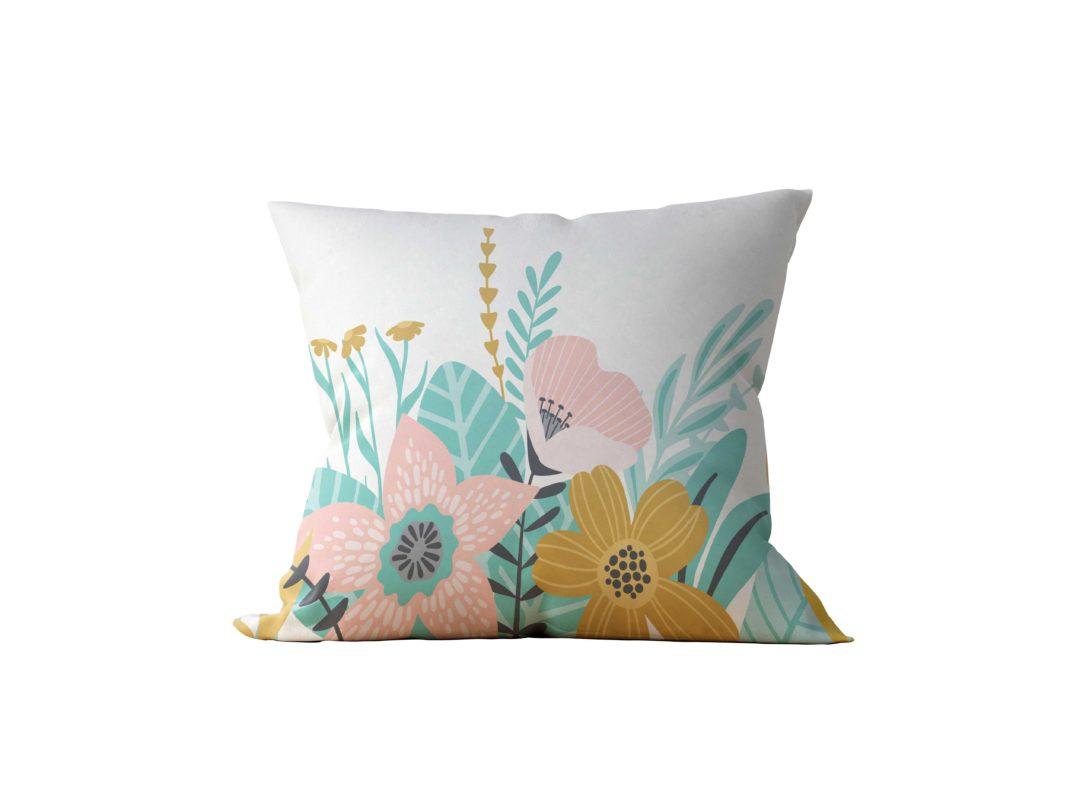 Almofada Decorativa Beauty Garden - 45x45