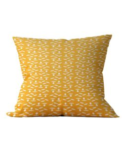 Almofada Decorativa Geométrica Gold & White - 45x45 - by #1 AtHome Loja