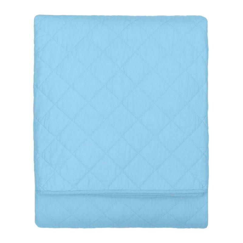 Cobre-Leito Azul AtHome Loja