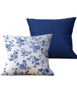 Kit com 2 Almofadas decorativas Flor Delicatesse - 45x45 - by #1 AtHome Loja