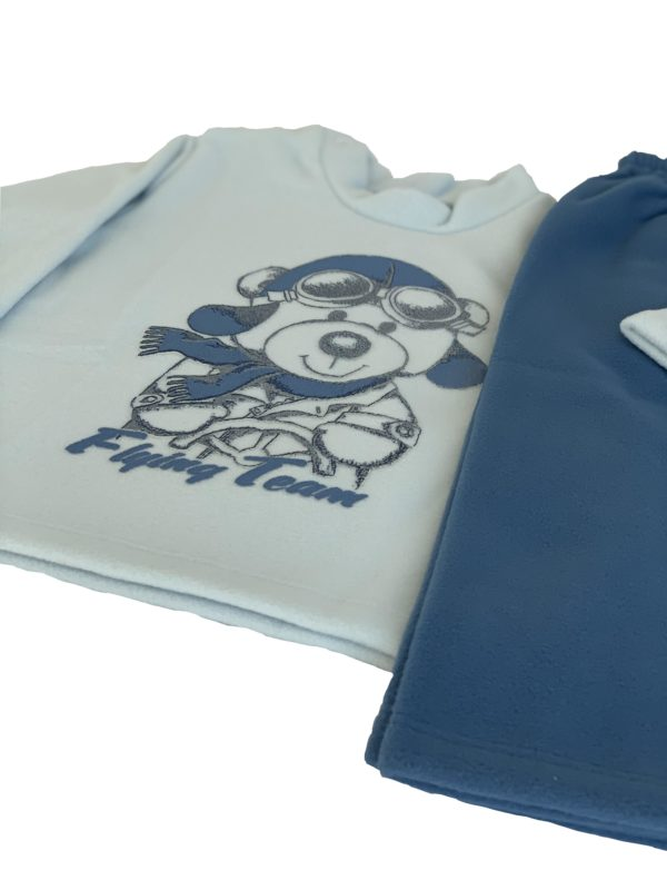 Pijama Infantil Dadomile Flying Team - MicroSoft PET Thermo