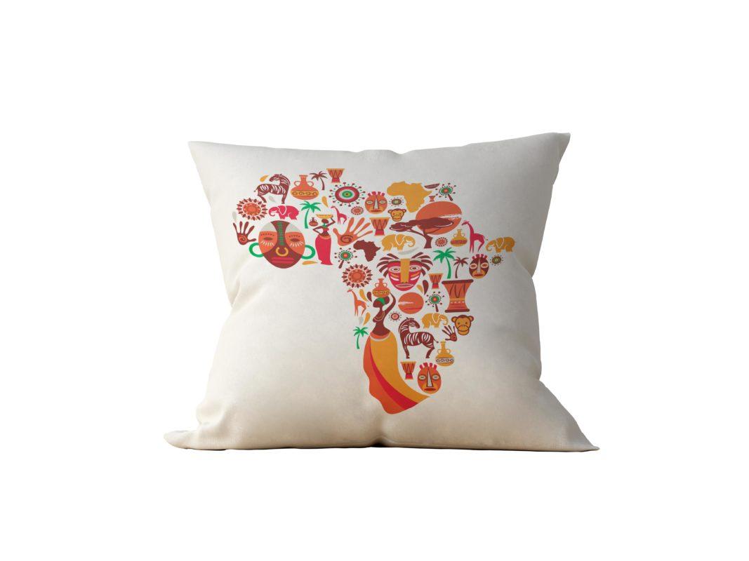 Almofada Decorativa Africa - 45x45