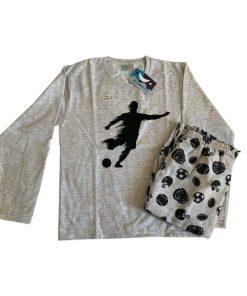 Pijama Infantil Moletinho - Futebol - Dadomile