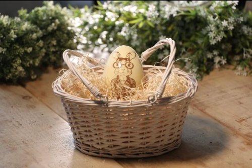 Charlotte Chocolate Egg - 1683 Chocolate Place