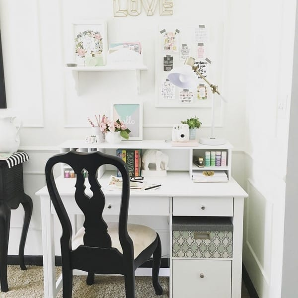 $2 Thrift Store Bulletin Board Makeover - at home with Ashley