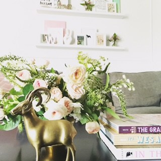 How I Decorated my Living Room on a Budget