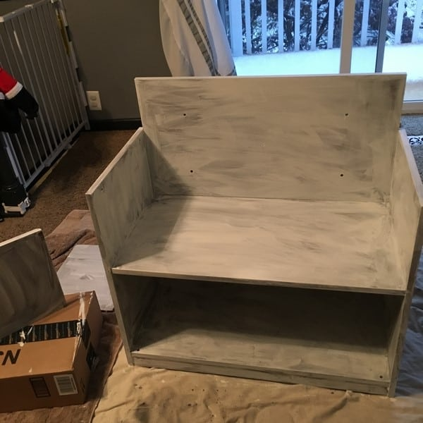 how to make a play kitchen from an entertainment center (6)