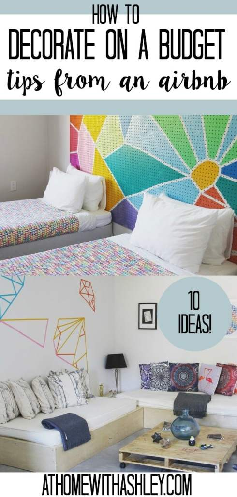 There Are Some How To Decorate On A Budget Tips From An Air BNB Home Decor Ideas