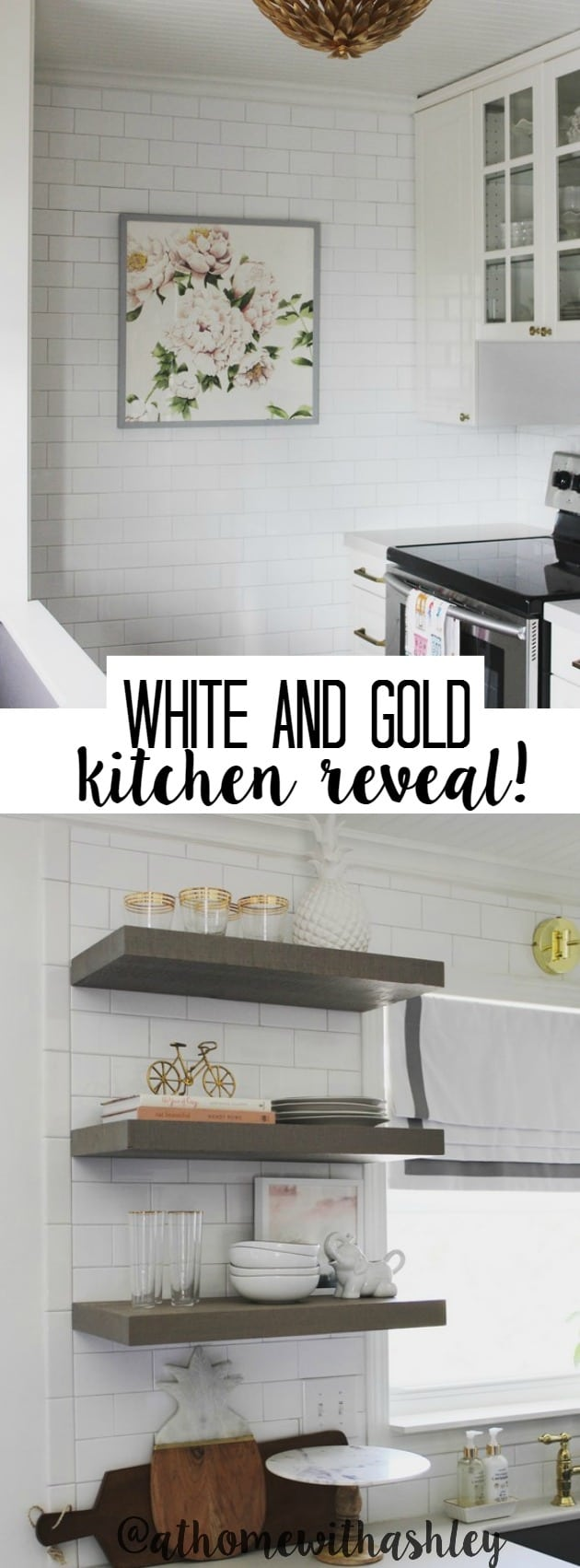 Kitchen Reveal! - at home with Ashley
