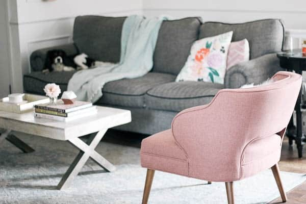 Living Room Refresh- Tips on Choosing an Accent Chair - at ...