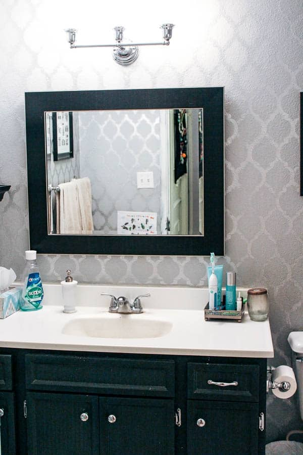 I Have Had This Blog For 2 Years And Have Only Shown The Bathroom Once  Before. Since Then, It Has Sat Untouched And Looking A Little Dated.