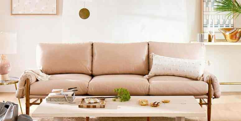 The Ultimate Blush Pink Sofa Roundup - at home with Ashley