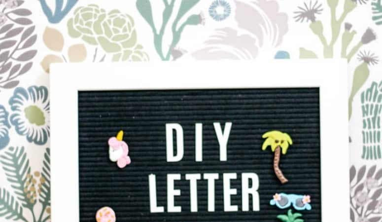 DIY Letterboard Accessories