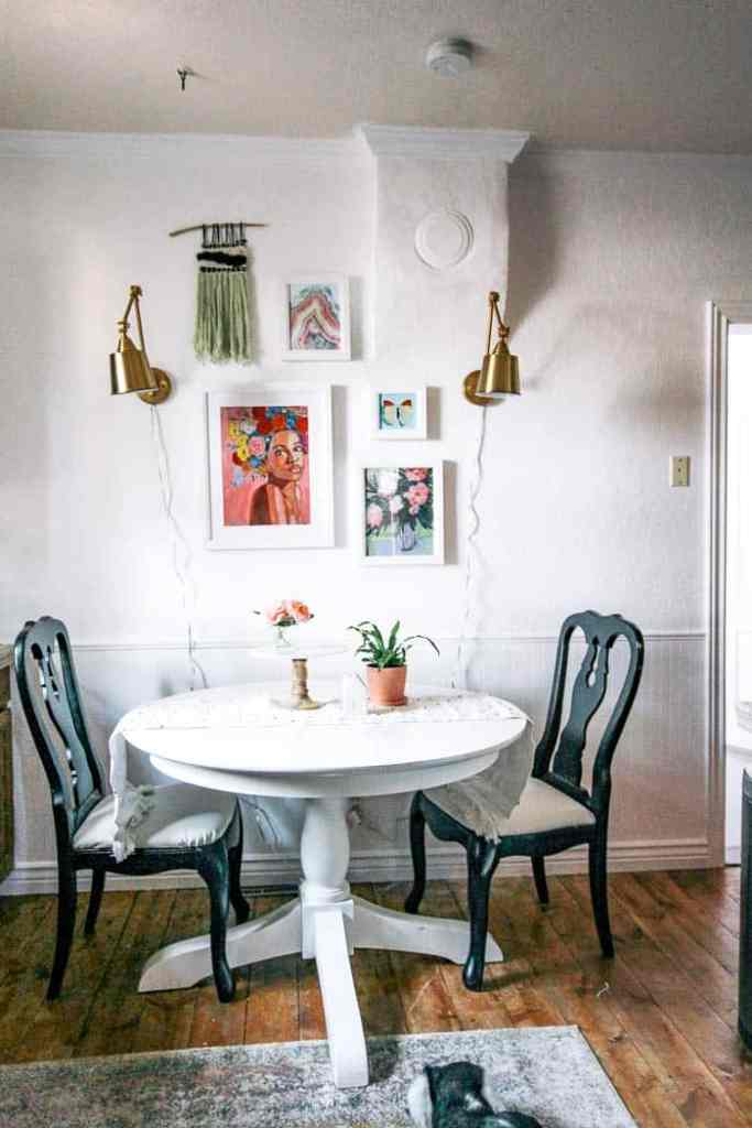 how to have sconces without power or plugs. These wall fixtures would be perfect in a bedroom, living room, hallway, bathroom, dining room, kitchen or stairway. I included some fun styles like farmhouse, rustic, and modern. This DIY will solve all of your lighting problems! Click through for this magic light trick!