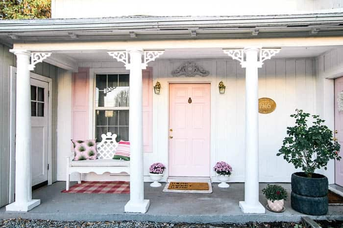 Front Porch Makeover - at home with Ashley