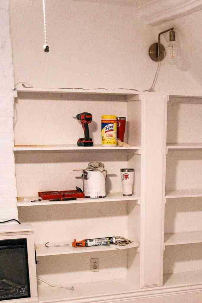 Prime Diy Built In Bookcase At Home With Ashley Download Free Architecture Designs Lukepmadebymaigaardcom