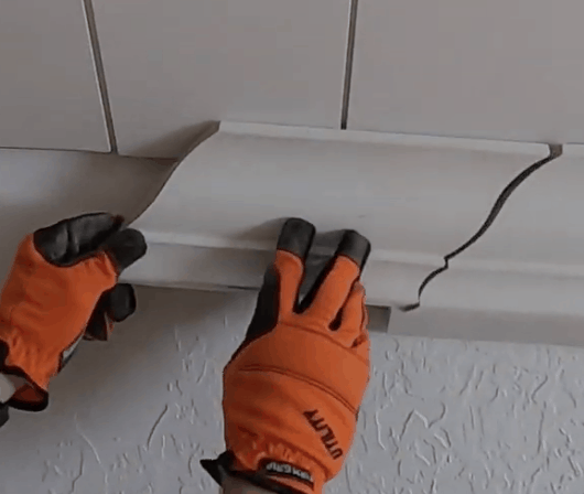 How to Install Crown Molding - at home with Ashley