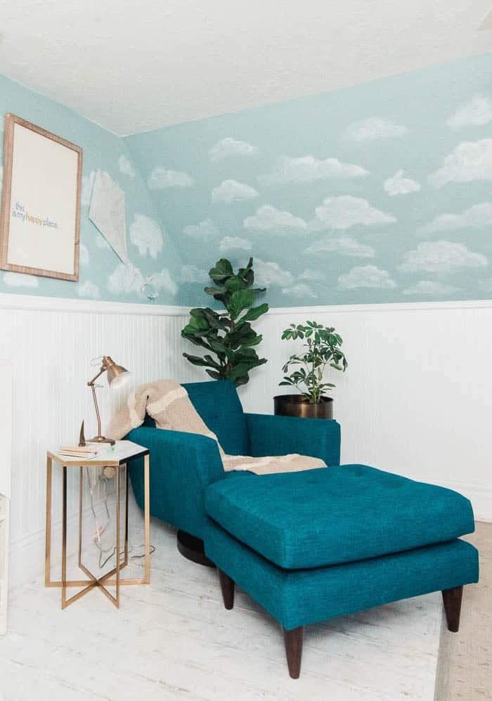 Mid century rocking chair for a nursery. If you have a more modern style, these rockers and gliders are perrfect for that or a reading nook. Pick something that is beaufiul and chic for a kids room. You could go grey for a gender neutral space. Inspiration for your home