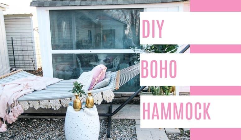 DIY Boho Hammock