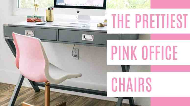 Cool The Prettiest Pink Office Chairs At Home With Ashley Inzonedesignstudio Interior Chair Design Inzonedesignstudiocom