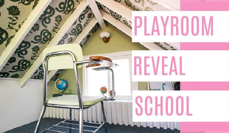 Playhouse School Reveal