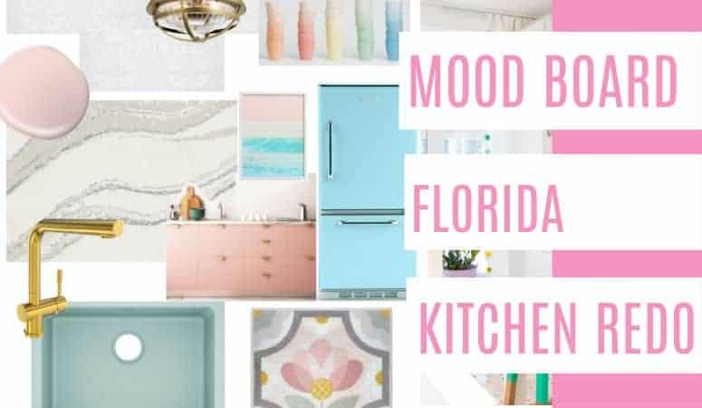 One Room Challenge- Florida Kitchen Week 2