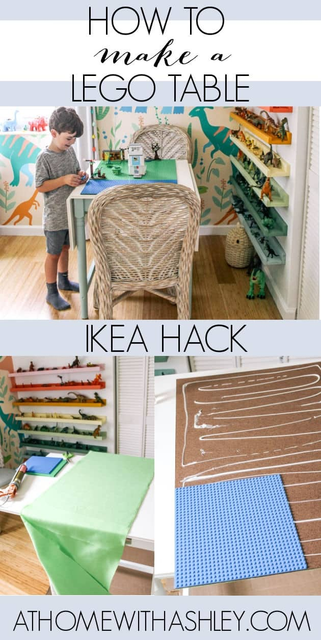 diy lego table ikea hack. A play table with chairs for older kids or adults. It's easy and I sure how to make a removeable top with base plates. Perfect for a Lego activity table. Ideas for how to customize it